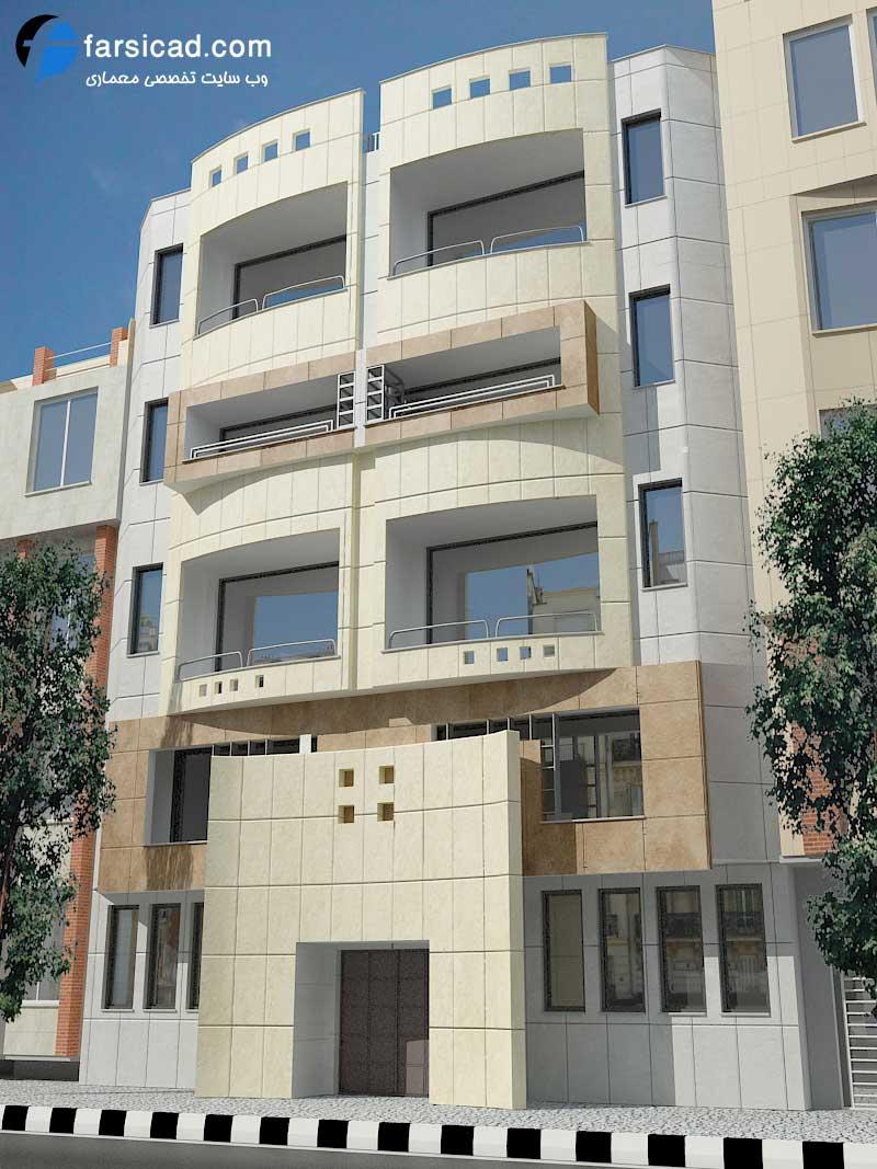 پکیج 4 هزار عکس نمای ساختمان مسکونی و ویلایی اجرا شده در ایران ...نمای ساختمان ، نمای آپارتمان ، نمای ساختمان مسکونی ، نمای ویلا - نمای سنگی -