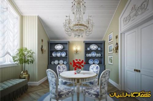 طراحی داخلی کلاسیک ، مبلمان کلاسیک