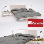 آبجکت تخت خواب - اتاق خواب