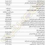 لیست جزوات و کتاب های ارشد معماری - صفحه 1