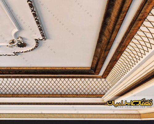تزئینات گچ بری - ابزارهای گچ بری - آبجکت های گچ بری - تزئینات معماری داخلی