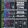 پلان مسکونی ، پلان ساختمان ، نقشه ساختمان مسکونی ، نقشه اتوکدی ، پلان اتوکدی