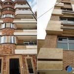 تقشه ساختمان ، پلان ساختمان ، نمای ساختمان ، نمای چوبی ؛ نمای آنتیک، نما رومی