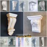 سرستون نمای رومی ، طرح سرستون نما کلاسیک - ابزار نمای کلاسیک و رومی