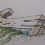 آموزش اسکیس و راندو - راندو با ماژیک - راندو در معماری - اسکیس معماری