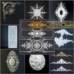 تزئینات معماری کلاسیک - تزئینات دکوراسیون - ابزارهای CNC