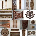 تزئینات چوبی معماری - تزئینات معماری cnc - آبجکت های کلاسیک